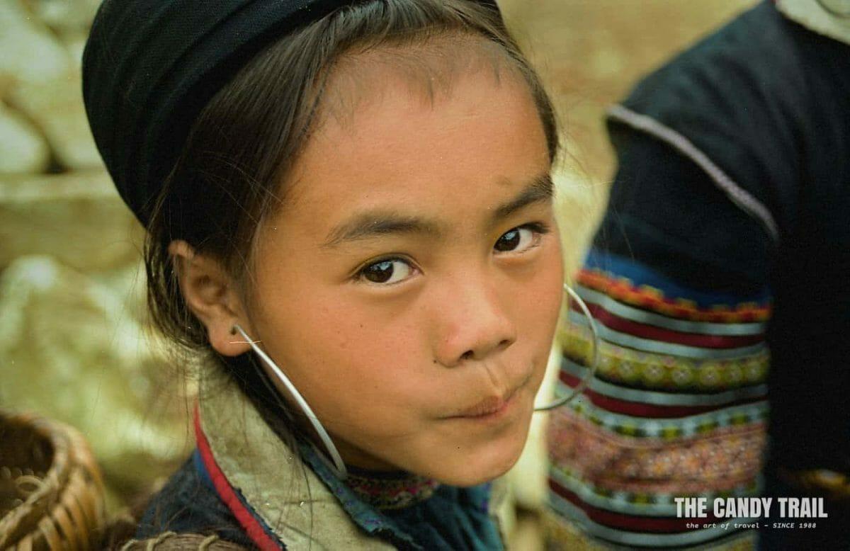 hmong tribe clothing young Hmong girl Sapa vietnam