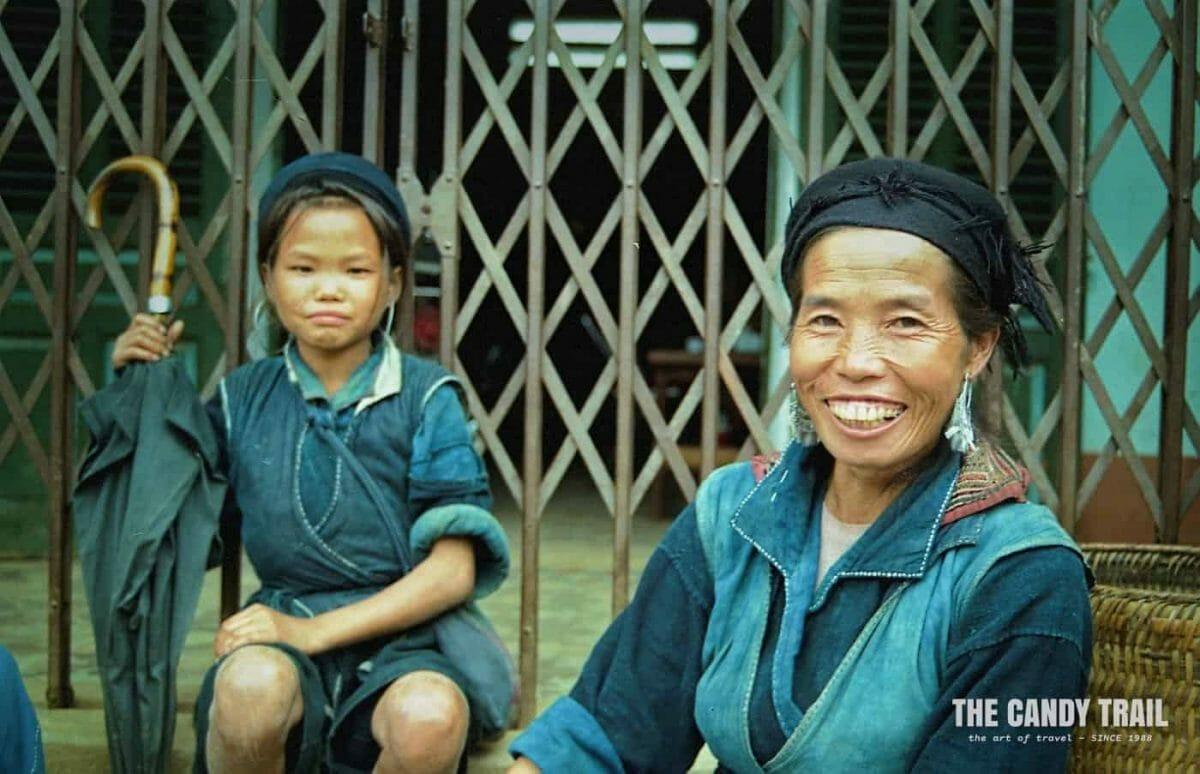 hmong hill tribe woman and gil sapa vietnam 1994