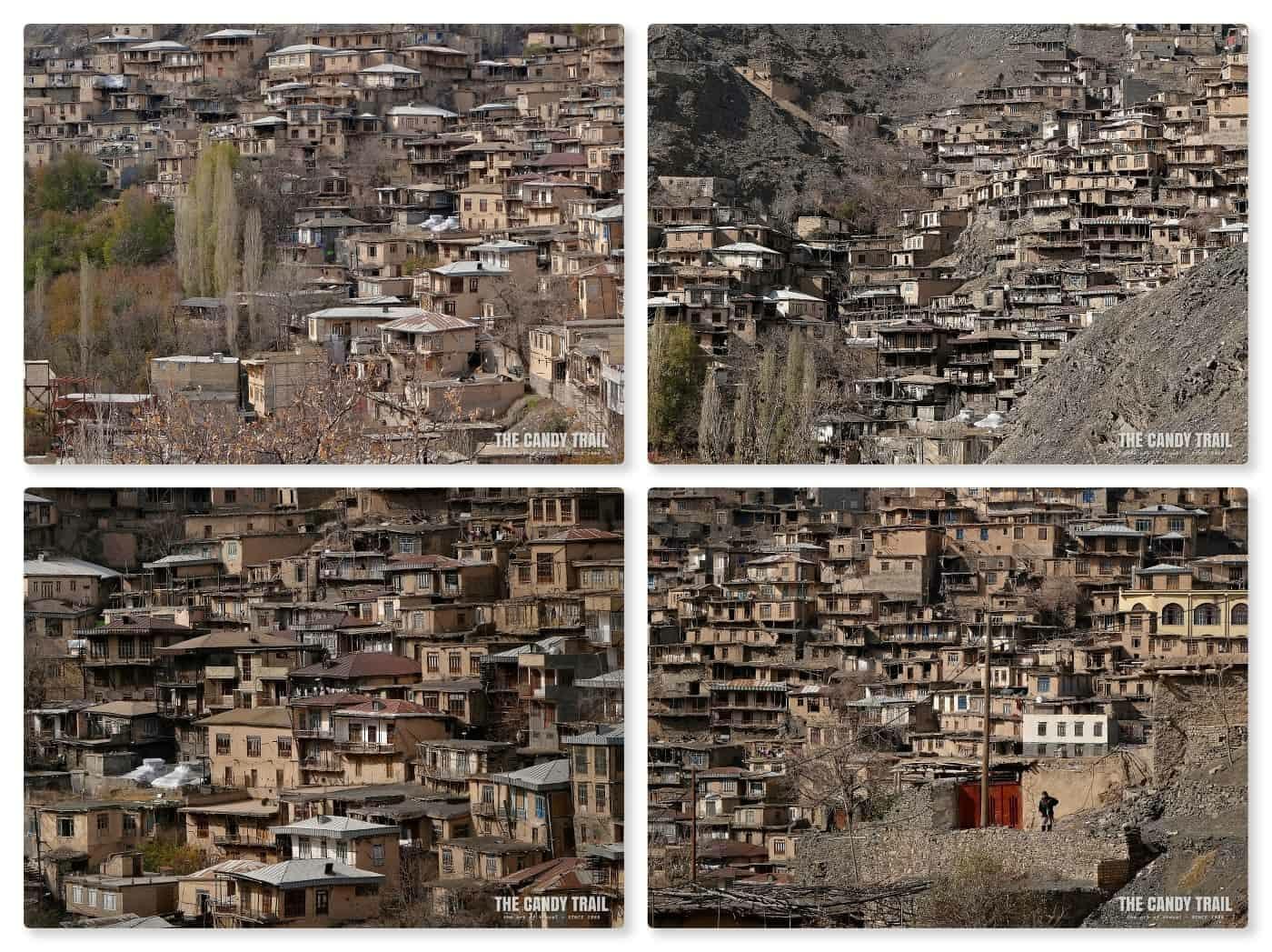 stepped houses of Kang village iran