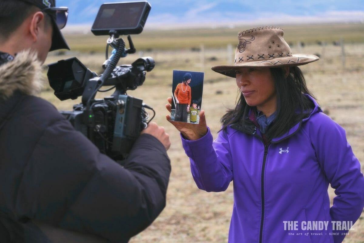 cameraman filming tibetan sichuan china