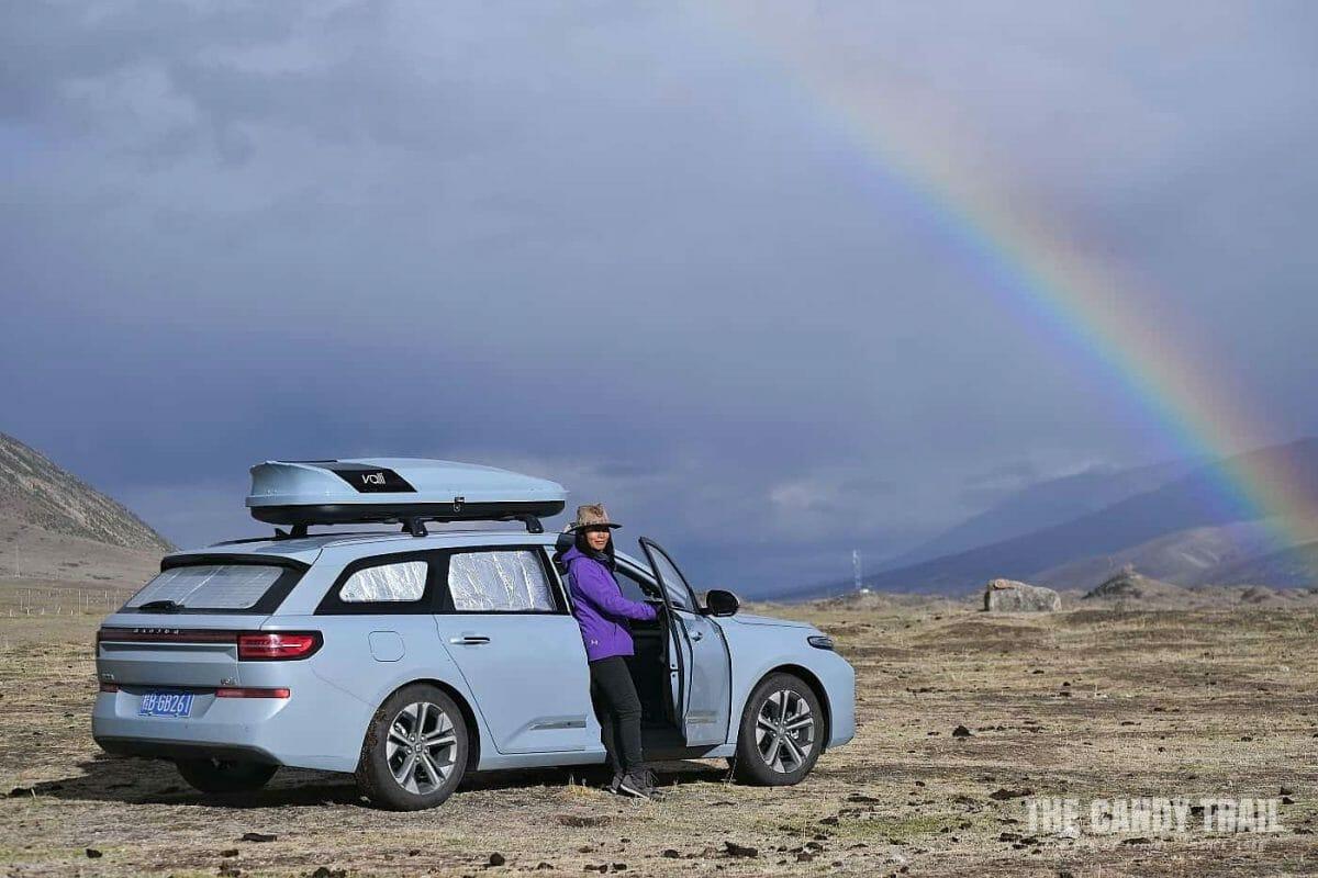 rainbow tibetan sichuan china