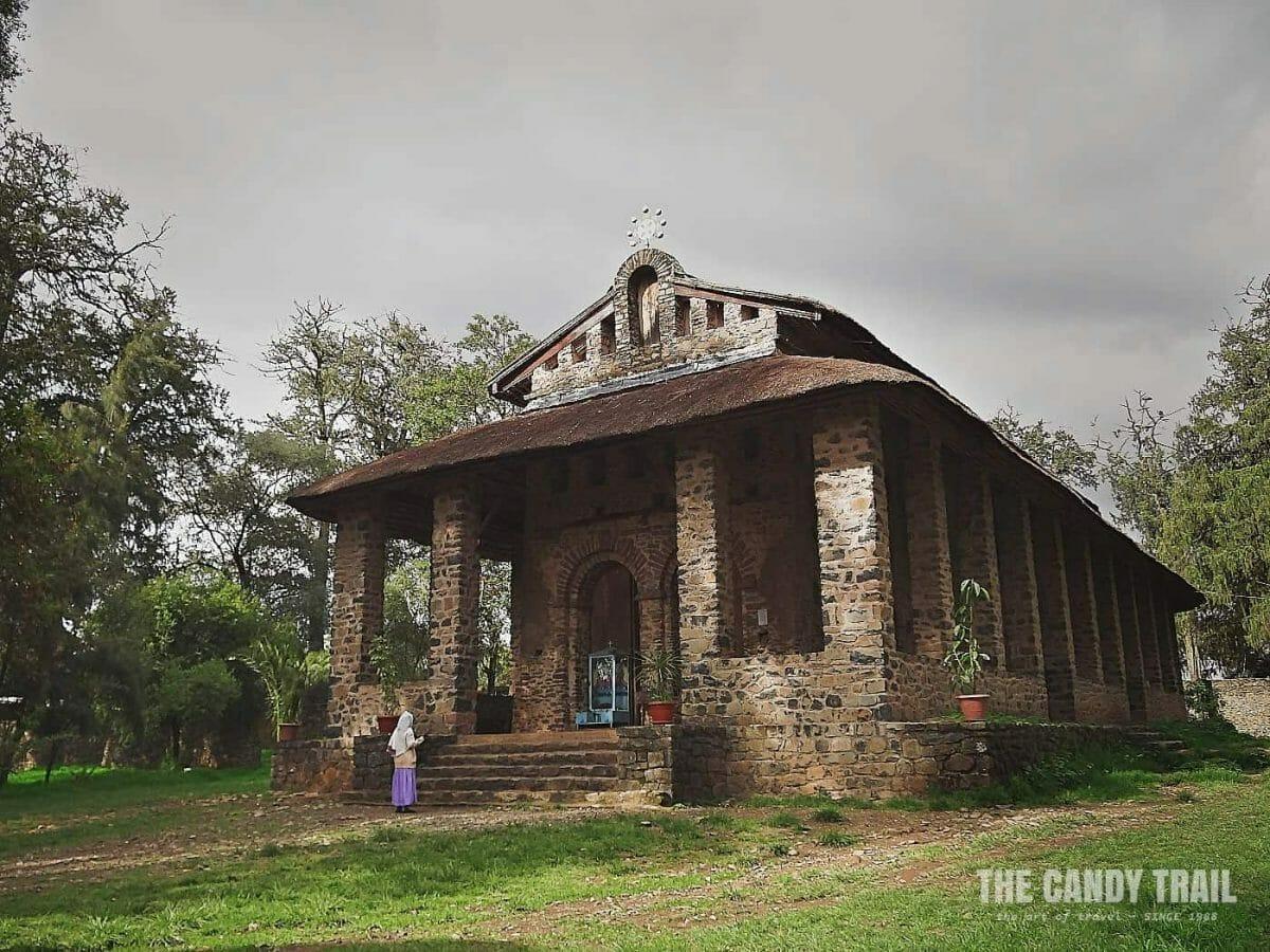debre birhan selassie church gondar ethiopia
