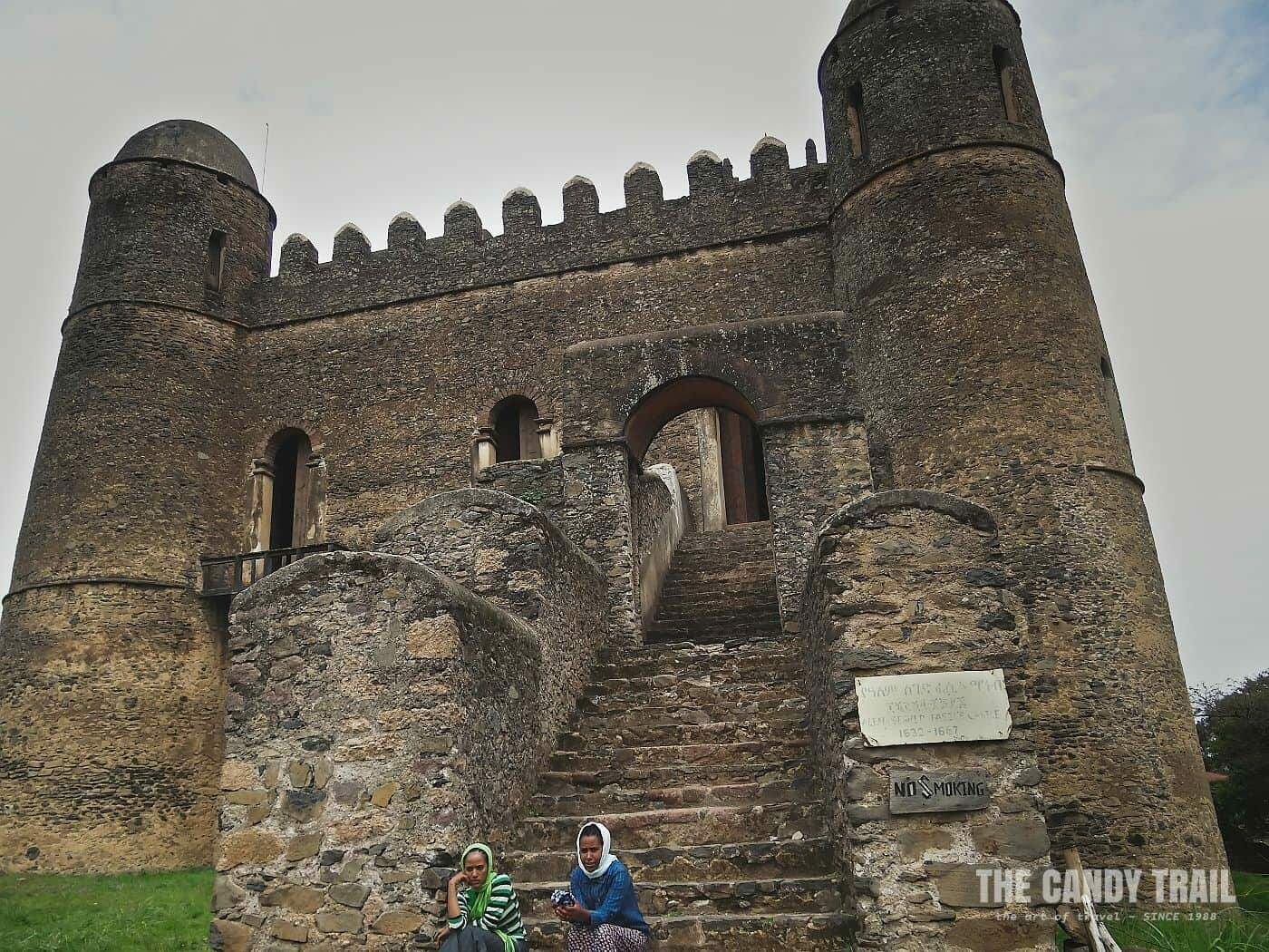 Enqualal Gemb castle gondar ethiopia