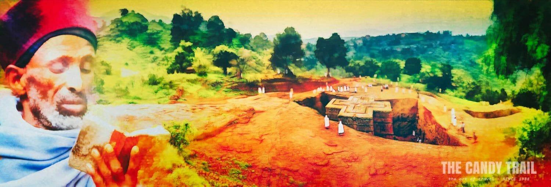 Priest at Lalibela Ethiopia: MRP ART - 2013