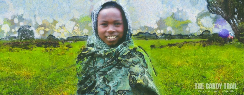Shepherd at Lake Tana - Ethiopia: MRP ART - 2013