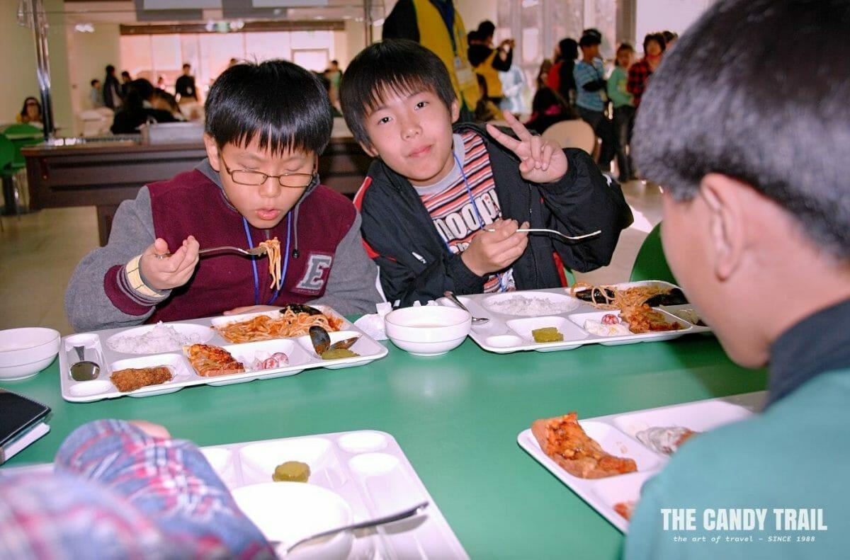 sev student canteen korea
