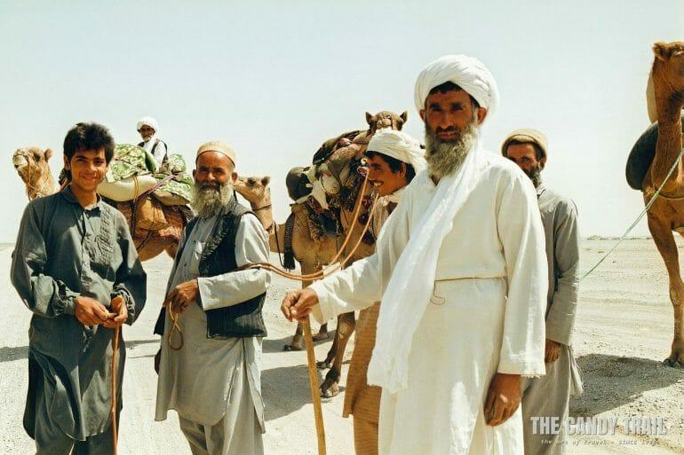 tribesmen baluchistan desert pakistan 1990